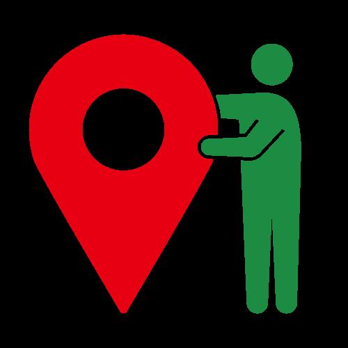 地図ピクトグラム